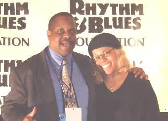Claudette Robinson and Nightrain