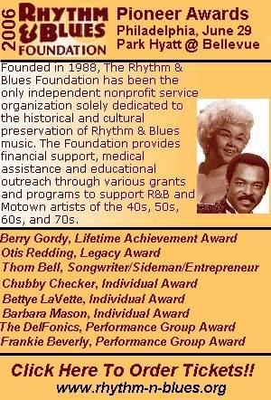 2006 R&B Foundation Pioneer Awards