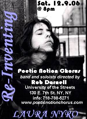 Concert Review: Reinventing Laura Nyro (NYC 12/9/06)