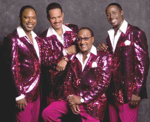 THE FOUR TOPS RETURN TRIUMPHANT WITH RELEASE OF NEW SINGLE EAST COAST WEST COAST ON JENNY JENNY RECORDS!