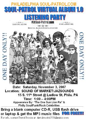 Soul-Patrol Digital Virtual Album 1.0: Philadelphia Listening/Release Party