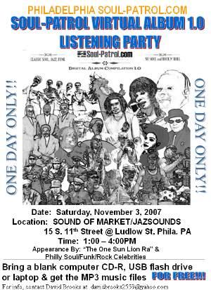 Soul-Patrol Digital Virtual Album 1.0: Philadelphia Listening/Release Party