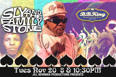 sly stone @ bb kings