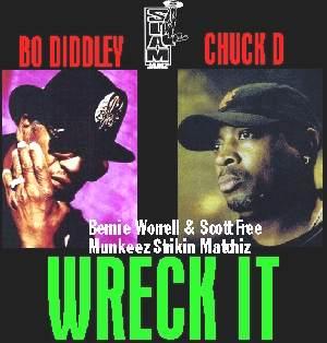 H*A*P*P*Y F*A*T*H*E*R*S D*A*Y - NEW RELEASE - Munkeez Strikin Matchiz - Wreck It (Bo Diddley, Chuck D, Bernie Worrell, Scott Free)