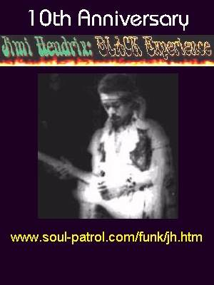 Celebrating the Birthday of Jimi Hendrix and the 10th Anniversary of the Jimi Hendrix BLACK Experience Web Page