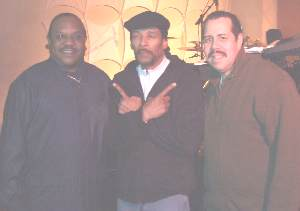 Clarence Burke Jr and Wendell Saywer of Blue Magic and Evan Willis of the Persuaders