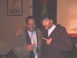 Clarence Burke Jr and Bob Davis