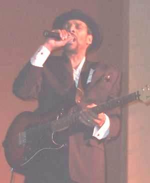 Clarence Burke Jr Singing