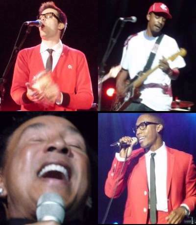Mayer Hawthorne (Philly Soul), Black Joe Louis (James Brown/Ike Turner/Jimi Hendrix), Raphael Saadiq (60