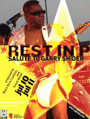 Concert Review: REST IN P - A TRIBUTE TO GARY SHIDER (RIP) - NY/NJ: July 11, 2010:Funkraiser for P-Funk