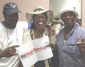 Bob Davis, Sugarfoot and ELP backstage