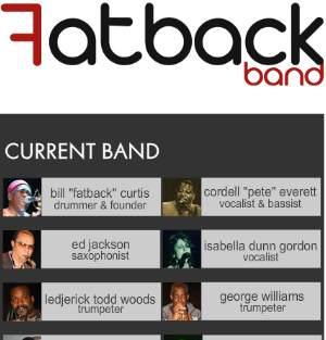 Fatback Band Update