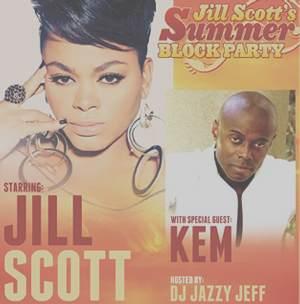 Kem and Jill Scott @ The Mann In West Philadelphia Sat. June 23, 2012