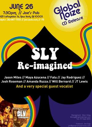 NEW RELEASE/REVIEW - SLY REIMAGINED-GLOBAL NOISE