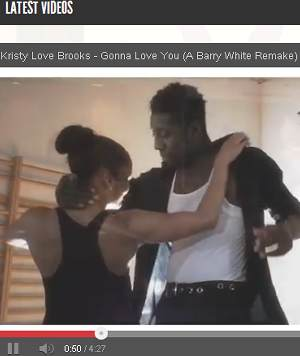 Kristy Love Brooks - Gonna Love You (A Barry White Remake)