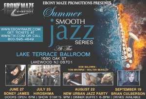 Concert Review - Boney James @ Lake Terrace Ballroom, Lakewood, NJ (6/27)