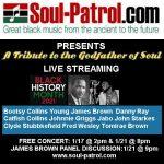 James Brown Tribute Streams/Online Symposium  (Free Registration Links Below)