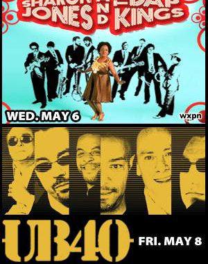 Philly: Sharon Jones & The Dap Kings + Ub40 Come To The Keswick!!!