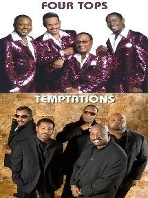 The Temptations & The Four Tops @ Keswick Theatre, Glenside, Pa